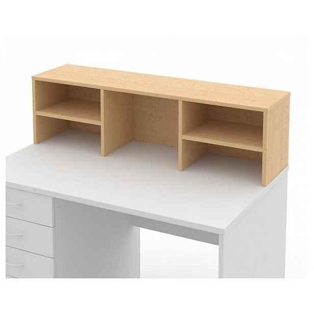 Nástavec psacího stolu 140 cm Buk