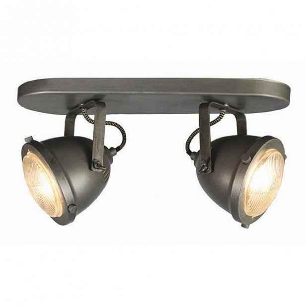 Šedé nnástěnné svítidlo LABEL51 Spot Moto Dos