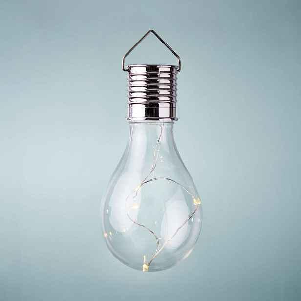 Butlers SUNLIGHT Solární žárovka k zavěšení - čirá