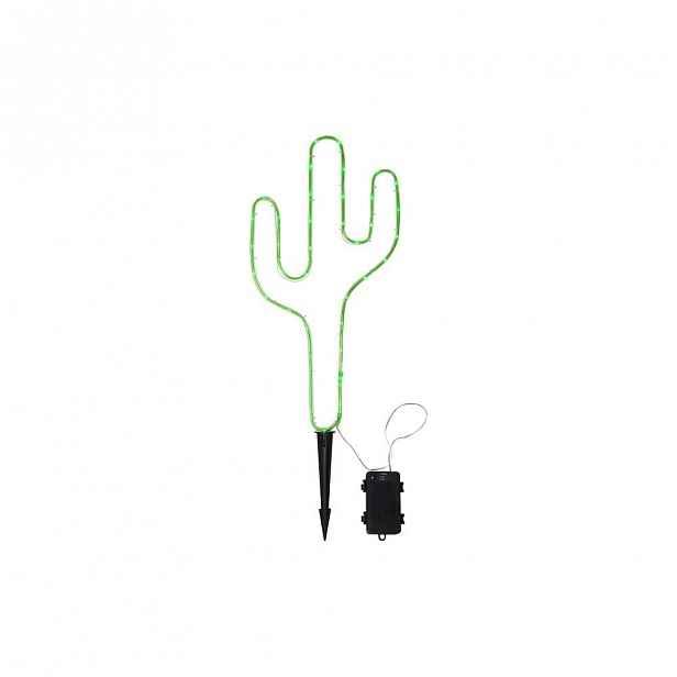 Zelené venkovní LED svítidlo ve tvaru kaktusu Best Season Tuby
