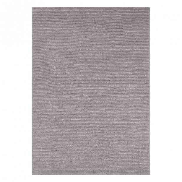 Světle šedý koberec Mint Rugs Supersoft, 80 x 150 cm