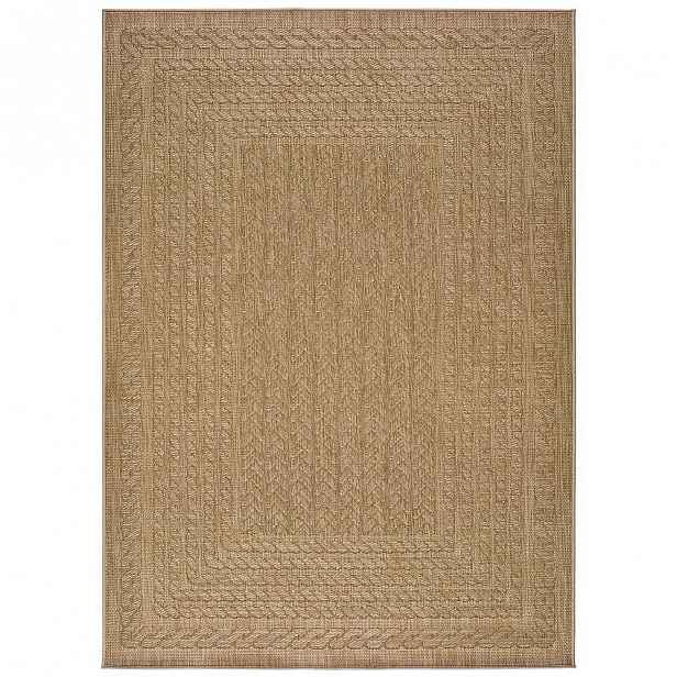 Béžový venkovní koberec Universal Jaipur Berro, 160 x 230 cm