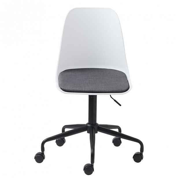 Bílá židle Unique Furniture - 44 cm