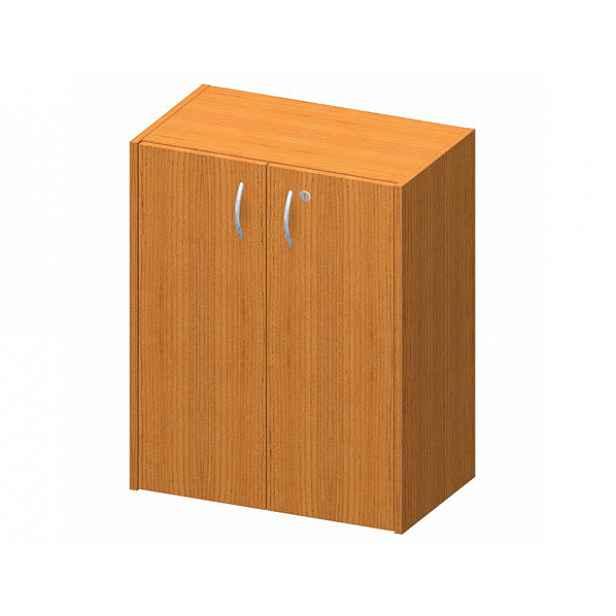 Skříňka nízká + zámek, třešeň, TEMPO AS NEW 011