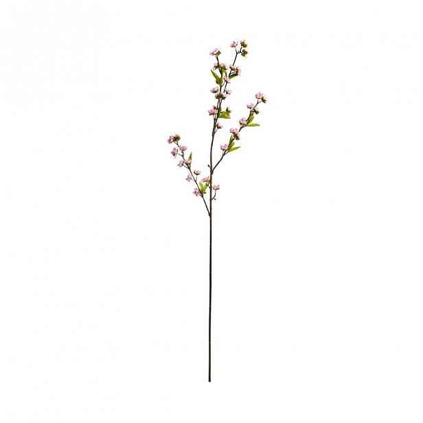Butlers FLORISTA Větvička kvetoucí jabloně 100 cm - sv. růžová