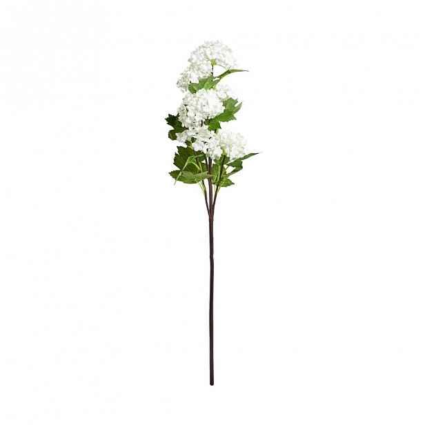 Butlers FLORISTA Větvička kalina 60 cm - bílá