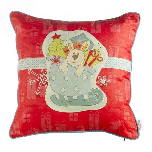 Vánoční povlak na polštář Apolena Comfort Gifts, 43x43cm