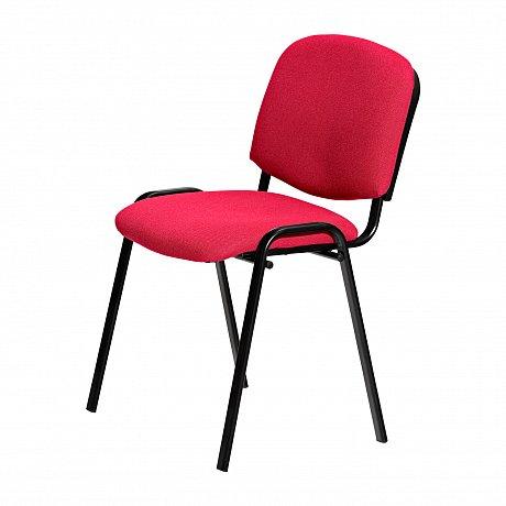 Konferenční židle VISI, červená - 53 x 42 x 80 cm