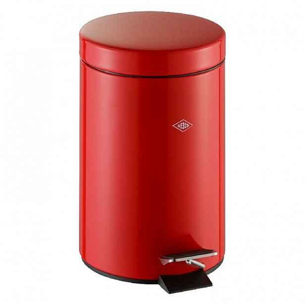 Odpadkový koš do koupelny Wesco, 3 l, červený