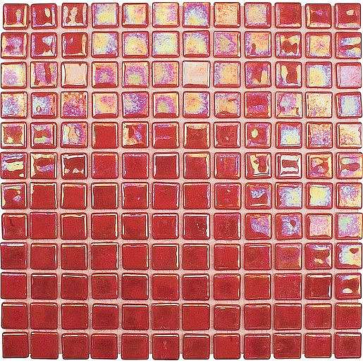 Skleněná mozaika Acquaris červená 30x30 cm lesk ACQUARISPA