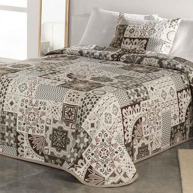 Přehoz na postel MIA béžový 180 x 200 cm