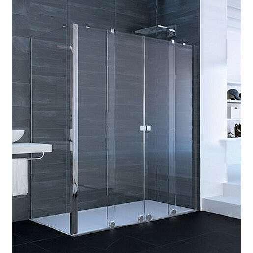 Boční zástěna ke sprchovým dveřím 80x200 cm Huppe Xtensa pure chrom lesklý XT1807.069.322