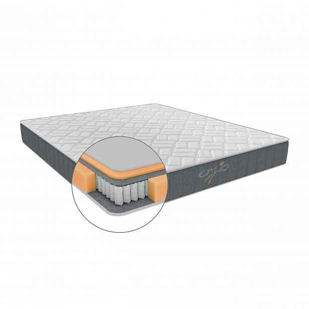 Enzio KANSAS 200 x 200 x 25 cm vysoká pružinová matrace