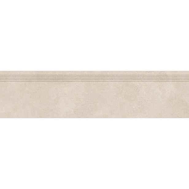 Schodovka RAKO Betonico světle béžová 30x120 cm mat DCPVF793.1