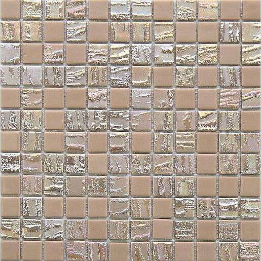 Skleněná mozaika Bamboo beige 30x30 cm mat / lesk BAMBOOBE50