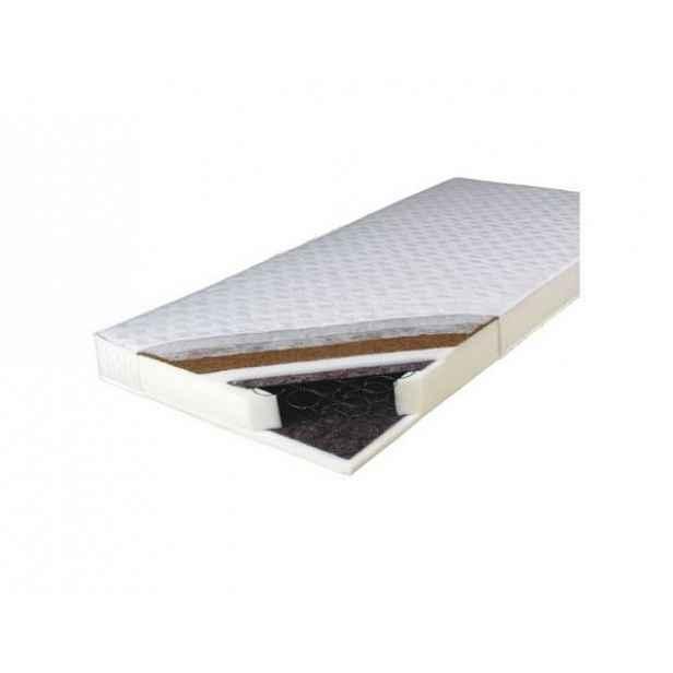 Matrace, oboustranná, pružinová, 90x200, KOKOS MEDIUM
