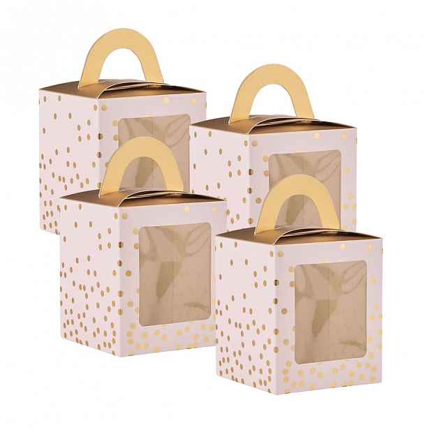 Butlers CELEBRATION Box na cupcake, set 4 ks