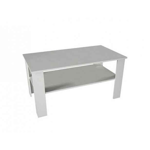 Konferenční stolek GAUDI, bílá