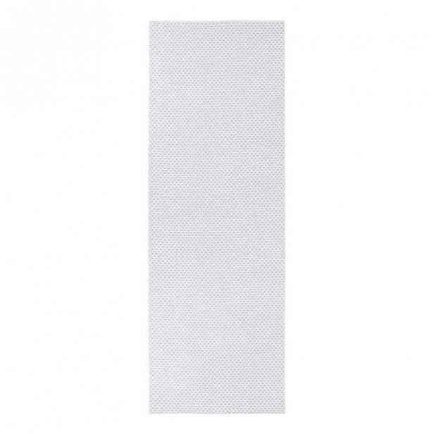 Světle šedý běhoun vhodný do exteriéru Narma Diby, 70x150cm