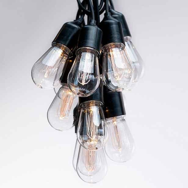 Prodloužení dekorativných světýlek DecoKing Bulb,délka3m
