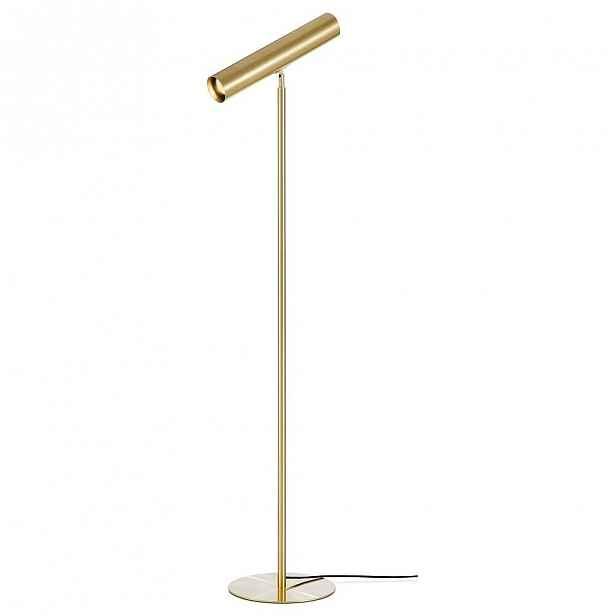 Volně stojící lampa v měděné barvě Markslöjd Ruben Floor 1L