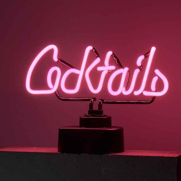 Butlers COCKTAILS Neonové světlo