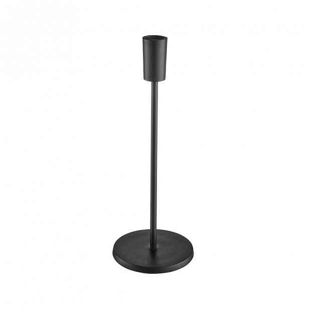 Butlers HIGHLIGHT Svícen kovový 29 cm - černá