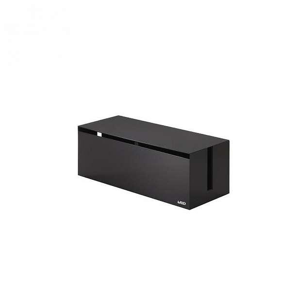 Černý box na nabíječky YAMAZAKI Web Cable Box