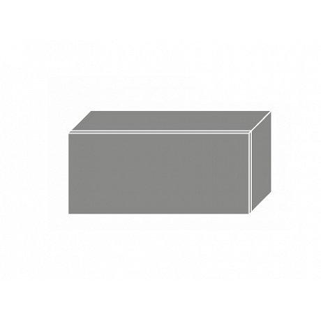 PLATINUM, skříňka horní W4b 80, korpus: grey, barva: rose red