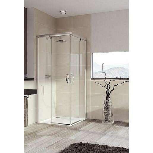 Sprchové dveře 100x100x200 cm Huppe Aura elegance chrom lesklý 401310.092.322.730