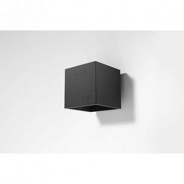 Černé nástěnné svítidlo Nice Lamps Geo