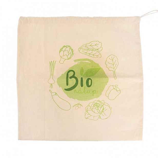 Bavlněný sáček na nákup BIO