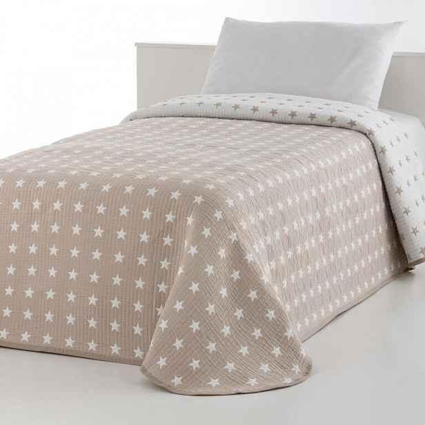 Přehoz přes postel THALIA béžový dvojlůžko