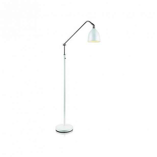Bílá volně stojící lampa Markslöjd Fredrikshamn