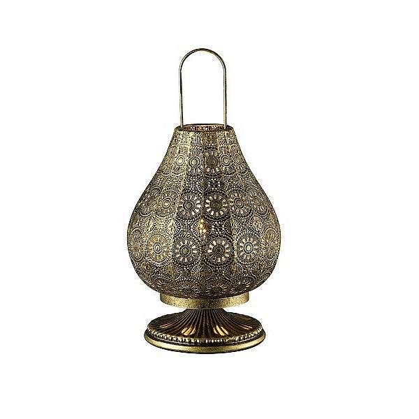 Stolní lampa Jasmin 503700104, mosazná