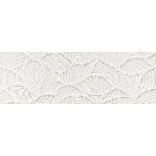 Dekor Dom Comfort G white design glitter 33x100 cm mat DCOG10DG