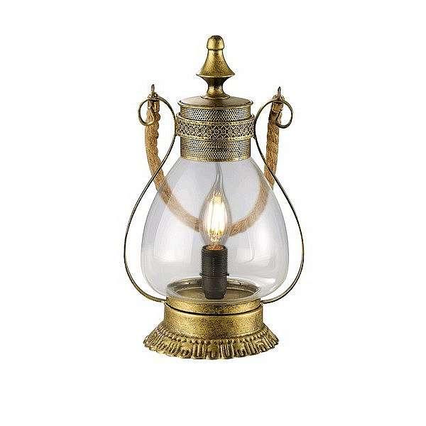 Stolní lampa Linda 503500104, mosazná
