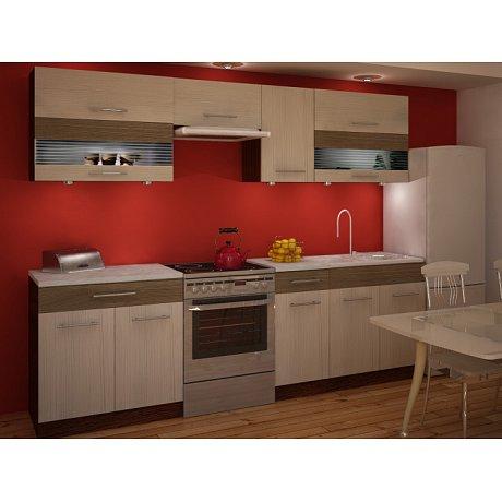 Kuchyně JURA NEW IA ZS 200/260 cm, rigoleto light