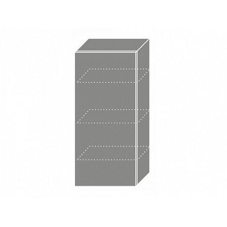 TITANIUM, skříňka horní W4 45, korpus: lava, barva: fino bílé