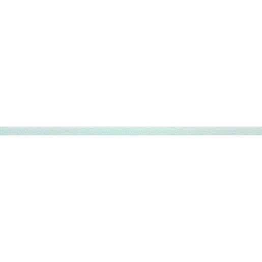 Listela Rako Rush světle modrá 2x60 cm lesk DDRSN972.1