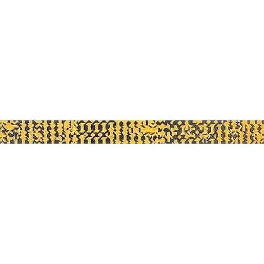 Listela Rako Trinity oranžová 3,5x40 cm lesk WLAN9094.1