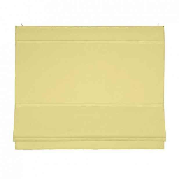 Římská Roleta Maggy, 80/170 Cm, Žlutá