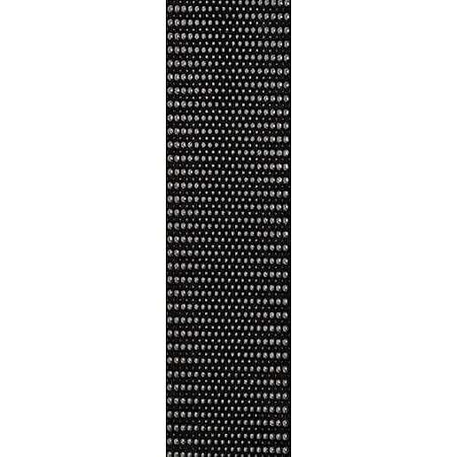Listela Pilch Kaleydos černá 8x30 cm mat L8KALEYDOS3C