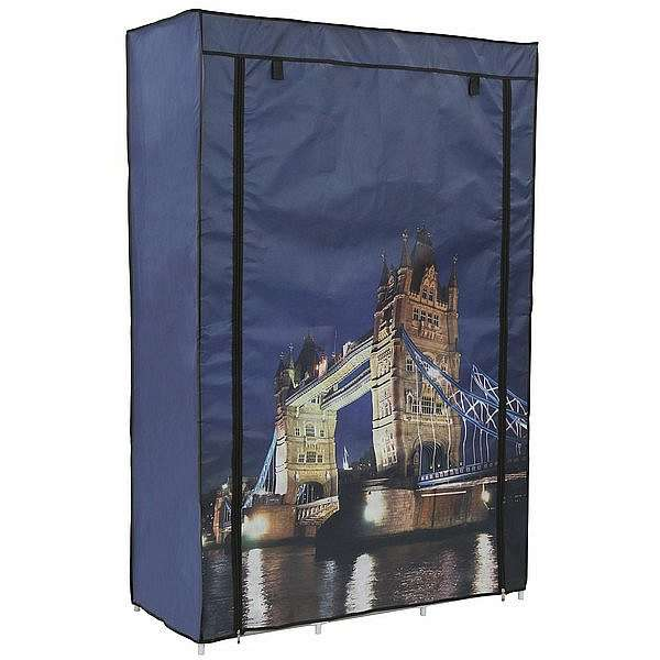 Látková skříň Tower Bridge
