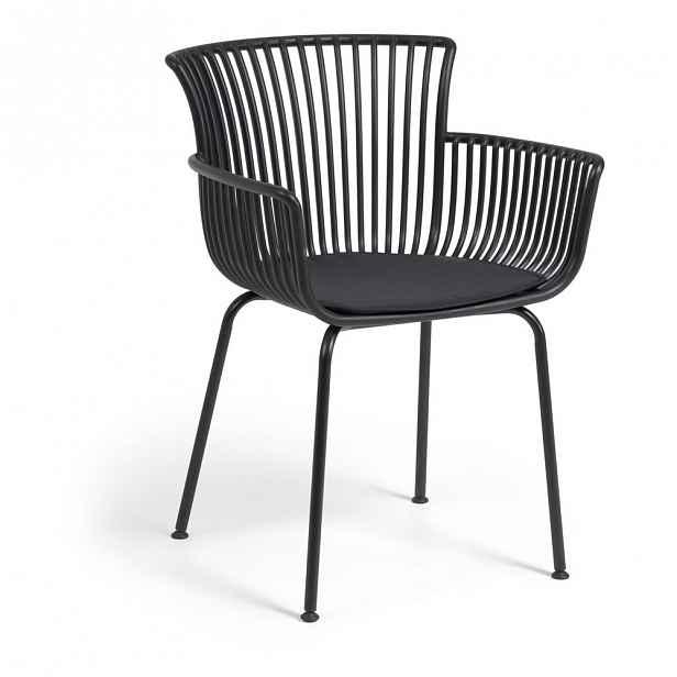 Černá zahradní židle La Forma Surpika
