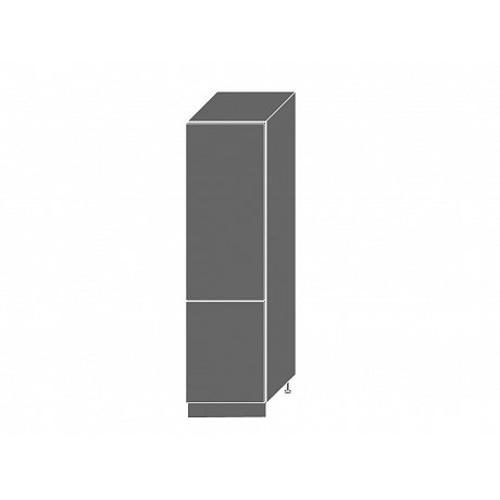 QUANTUM, skříňka pro vestavnou lednici D14DL, white mat/lava