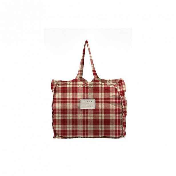 Látková taška Linen Couture Linen Bag Cuadros