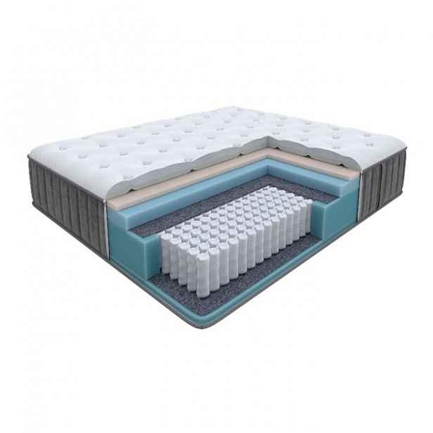 Enzio GLORY Medium 120 x 200 x 27 cm středně tuhá vysoká luxusní pružinová matrace