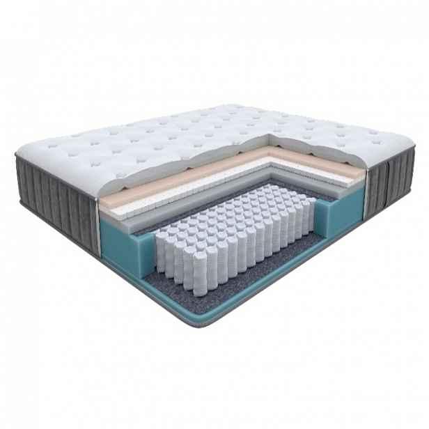 Enzio GLORY Soft 120 x 200 x 27 cm měkká vysoká luxusní pružinová matrace