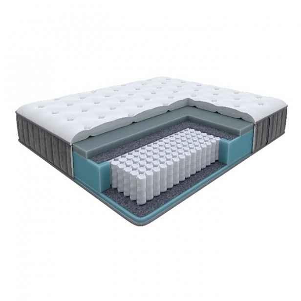 Enzio GRACE Medium 120 x 200 x 24 cm středně tuhá luxusní pružinová matrace